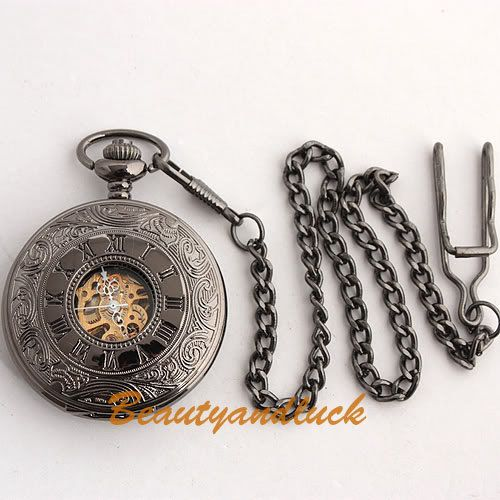 Hey, I found this really awesome Etsy listing at https://www.etsy.com/listing/78592627/black-steampunk-antique-roman-dial