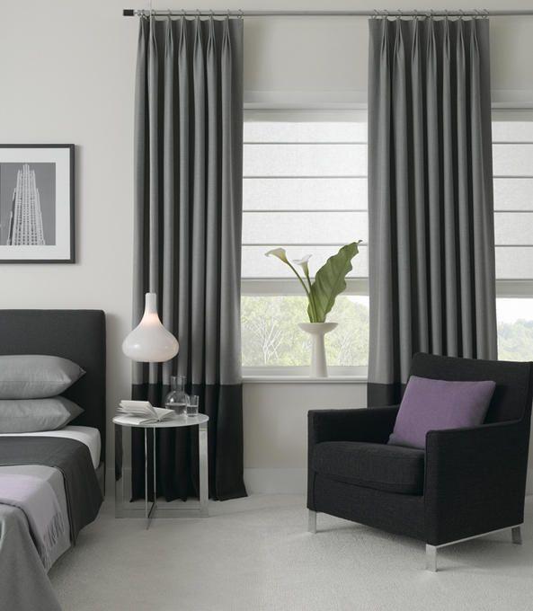 zeitgen ssische fenstervorh nge haus ideen. Black Bedroom Furniture Sets. Home Design Ideas