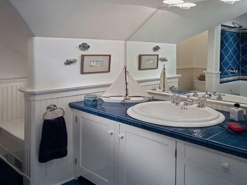 Nautical Bathroom Ideas Apply Nautical Bathroom Decorating Ideas - Nautica bathroom decor for small bathroom ideas