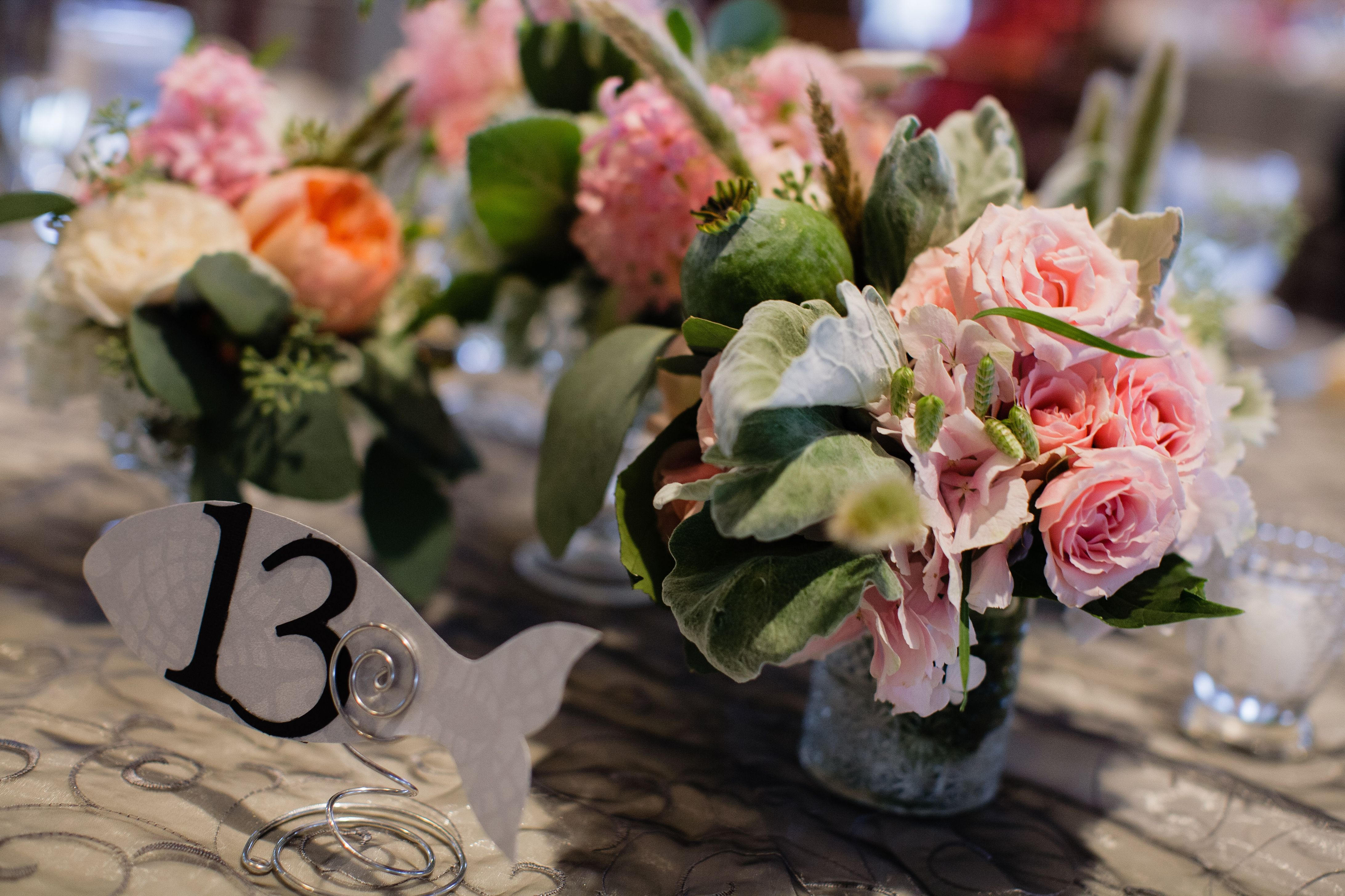 centerpiece flowers - Flowers by Semia
