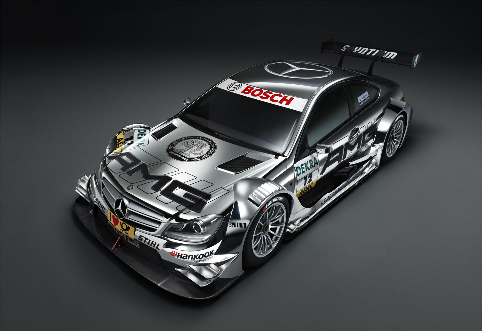 2012 Mercedes Benz C Coupe Amg Dtm Race Car