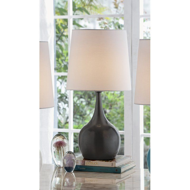 Marelle 24 Table Lamp Stylish Table Lamps Metal Table Lamps Grey Table Lamps