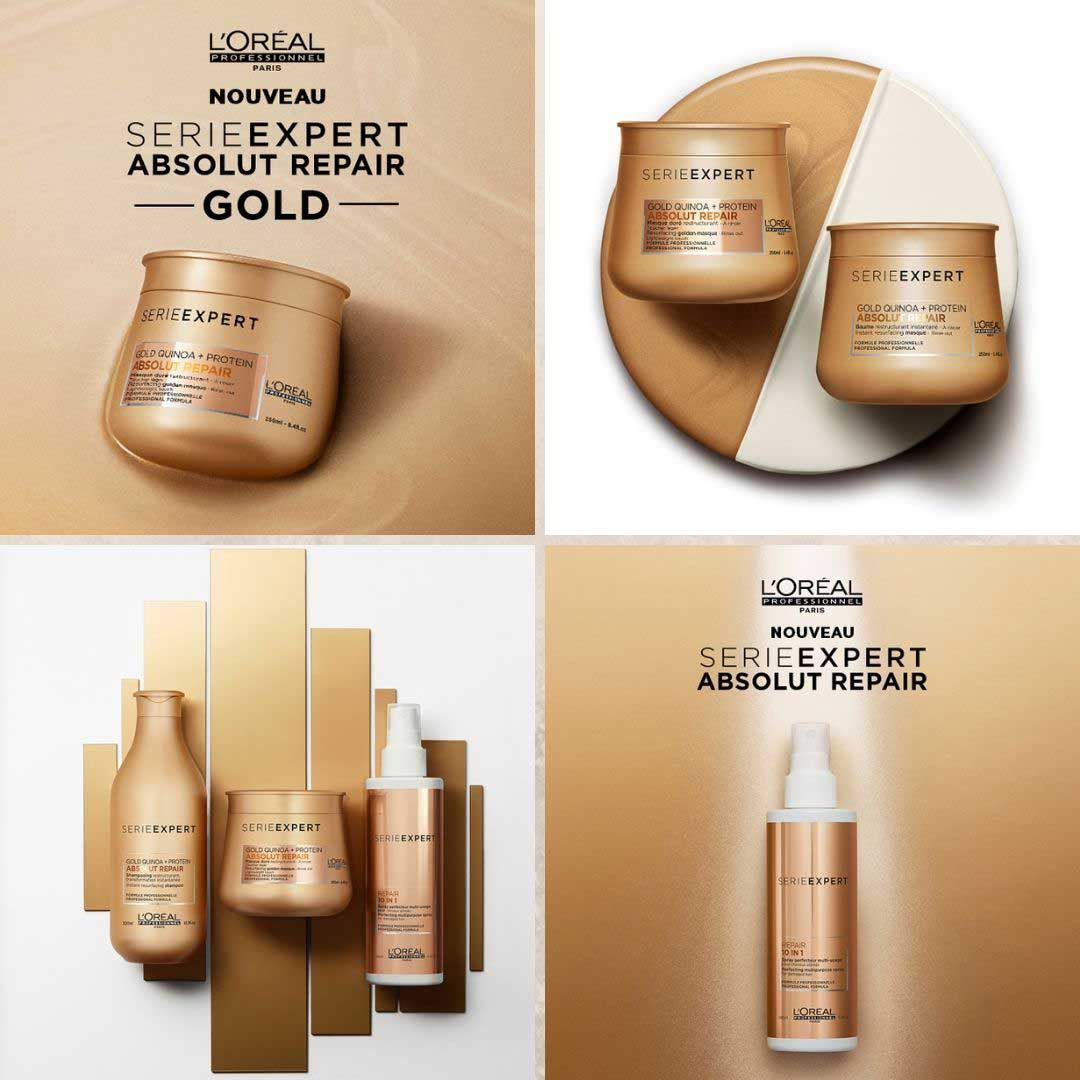 L Oreal Absolut Repair Gold Soin Cheveux Abimes Soin Cheveux Produits Capillaires