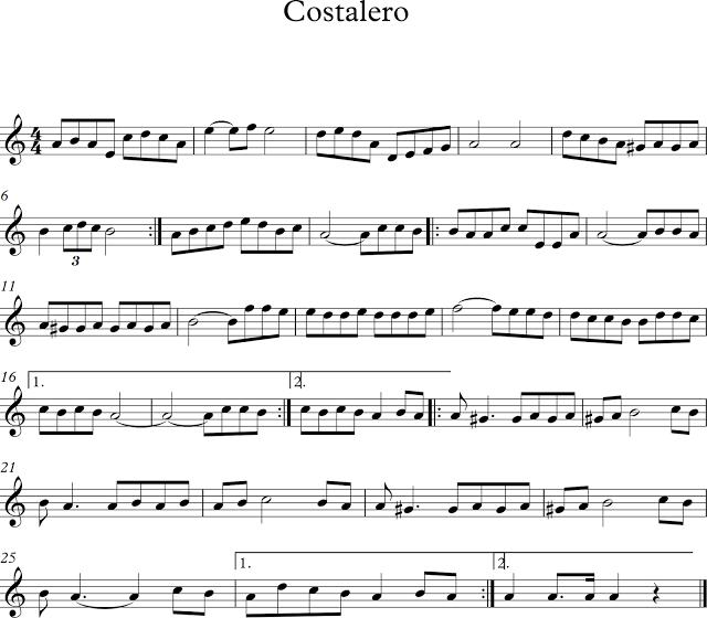 Descubriendo La Musica Costalero Partituras Partituras Digitales Partituras Clarinete