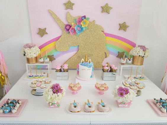 d78e5a914 Conoce las mejores ideas para organizar y decorar fiestas infantiles de  unicornio