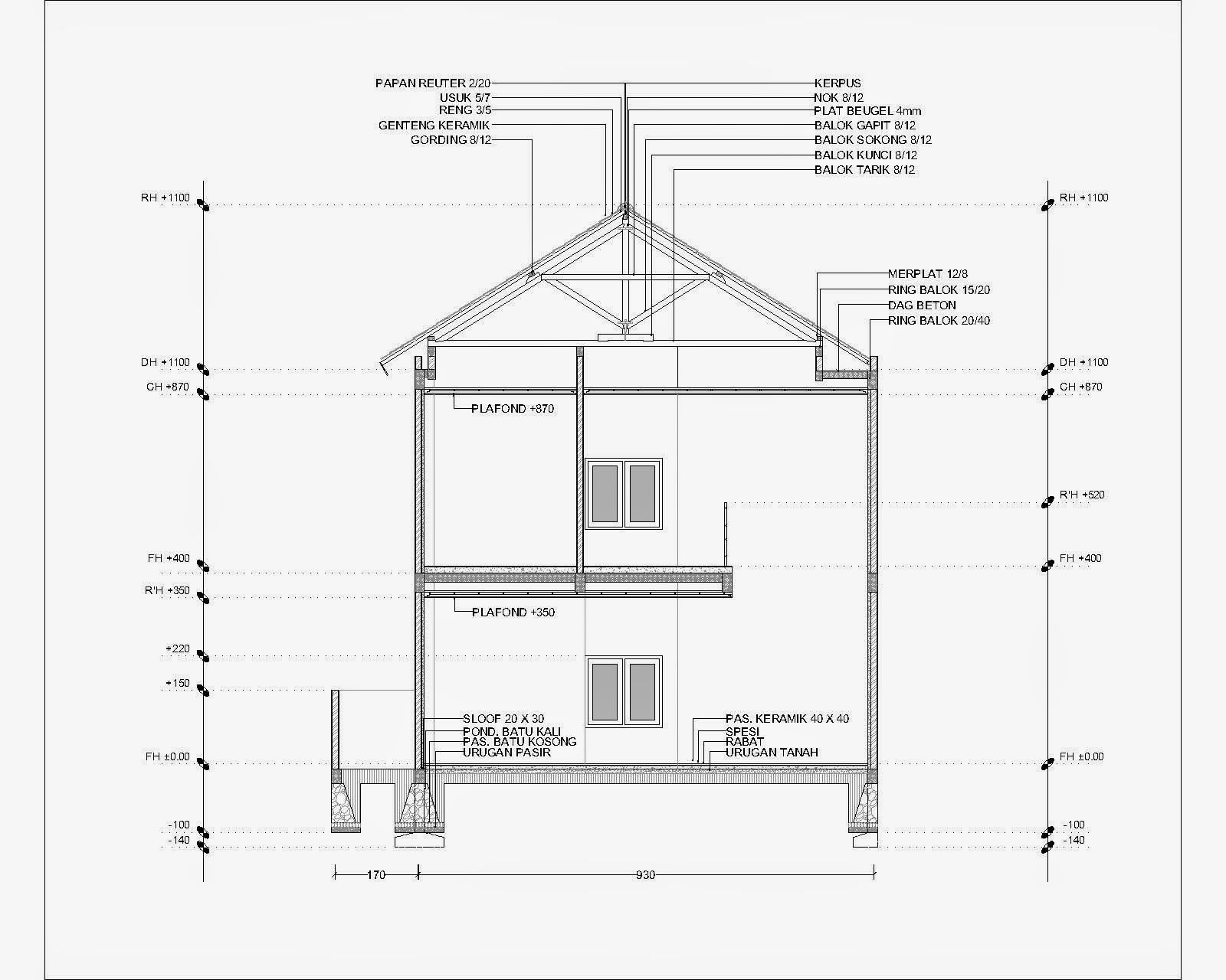 Contoh gambar potongan rumah minimalis menggunakan autocad griya contoh gambar potongan rumah minimalis menggunakan autocad griya bagus swarovskicordoba Images