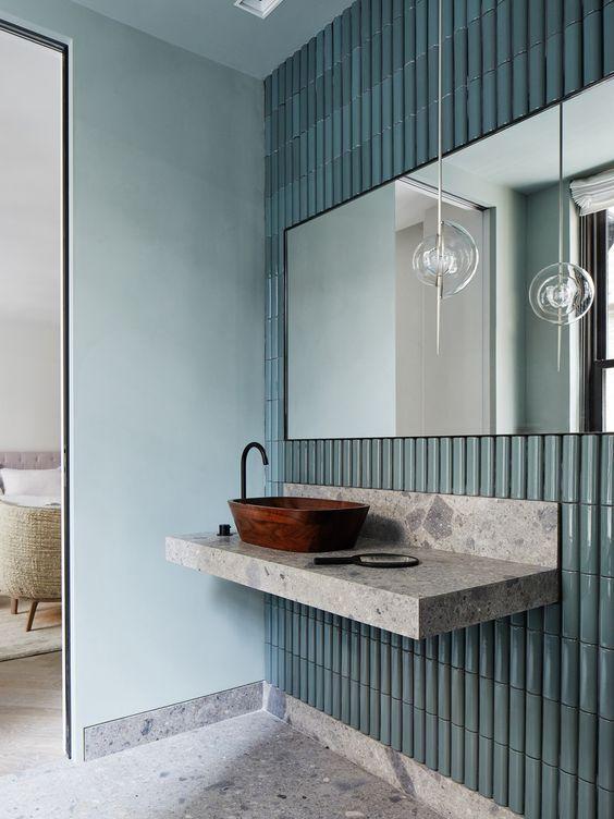 Waschtische aus Silestone geben Ihren Badezimmer einen edlen Look - edle badezimmer nice ideas