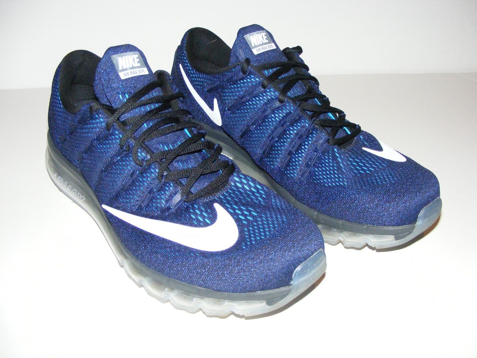 a63269e16a5  Men  Shoes Men s Nike Air Max 2016 Dark Obsidian Blue ((806771-409)  Running Shoes