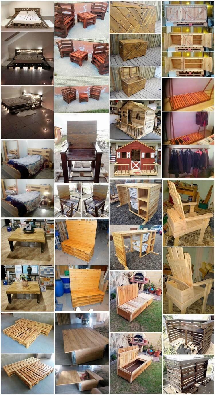 shipping pallet furniture ideas. Best DIY Ideas Using Shipping Wood Pallets For Your House Pallet Furniture V