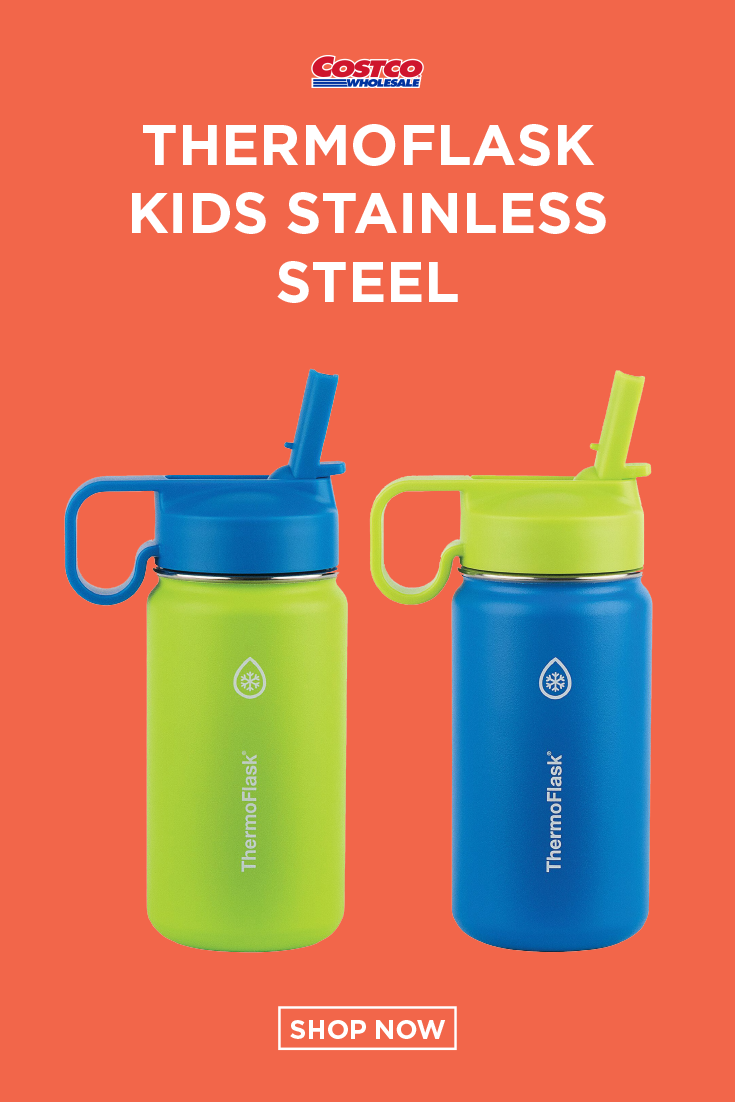 Thermoflask Kids Stainless Steel 14oz Water Bottle 2 Pack Water Bottle Bottle Kids