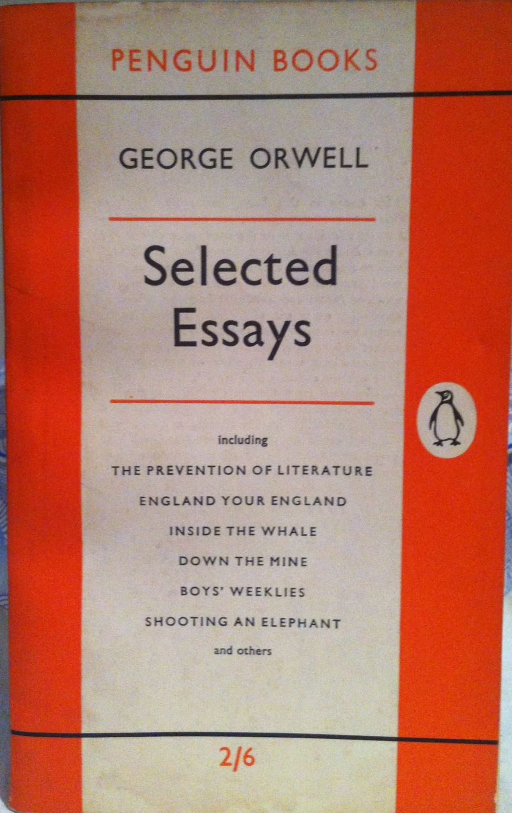 political essays george orwell Fifty Essays