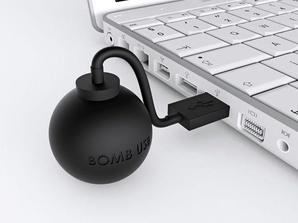 Bomb USB Flash Drive by Joel Escalona