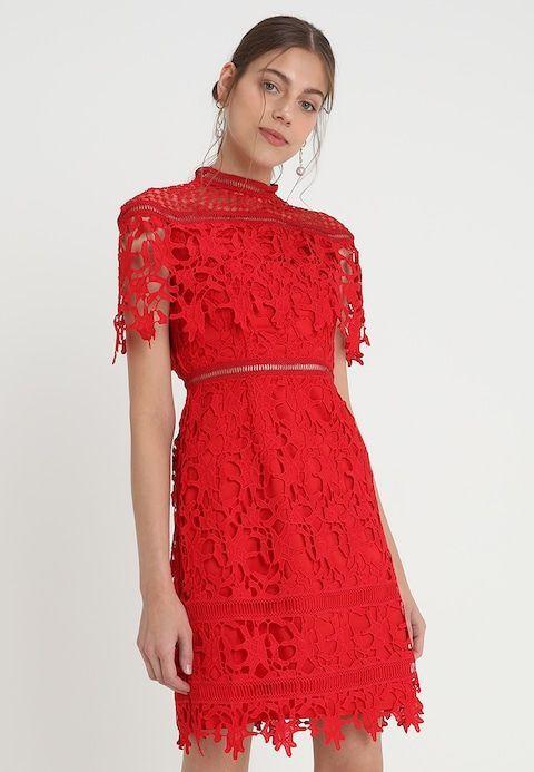 MHAIRI - Cocktailkleid / festliches Kleid - rot @ Zalando ...