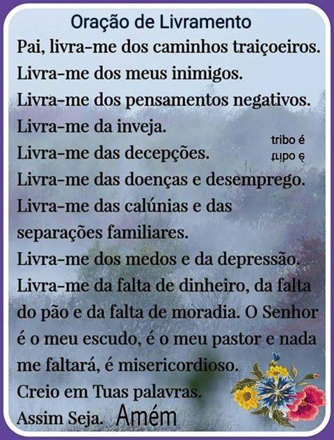 Well-known BLOG DO ARC@NJO SLZ ®: Oração do Livramento | DEUS | Pinterest  VI31