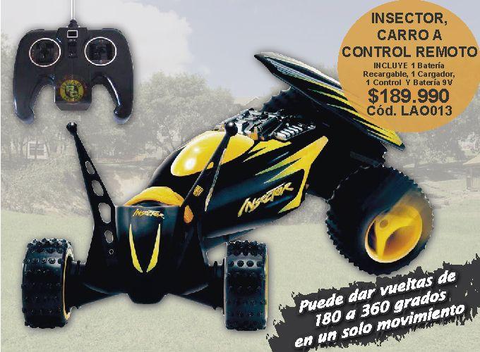 Insector Carro A Control Remoto Infantil 306