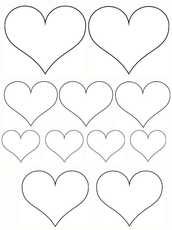 19 Decent Petit Coeur A Imprimer Pics 2020 Sevgililer Gunu Susleri Elisi Fikirleri Anneler Gunu Elisi