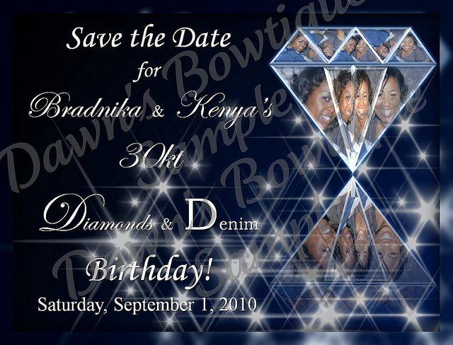 denim  u0026 diamonds save the date 02