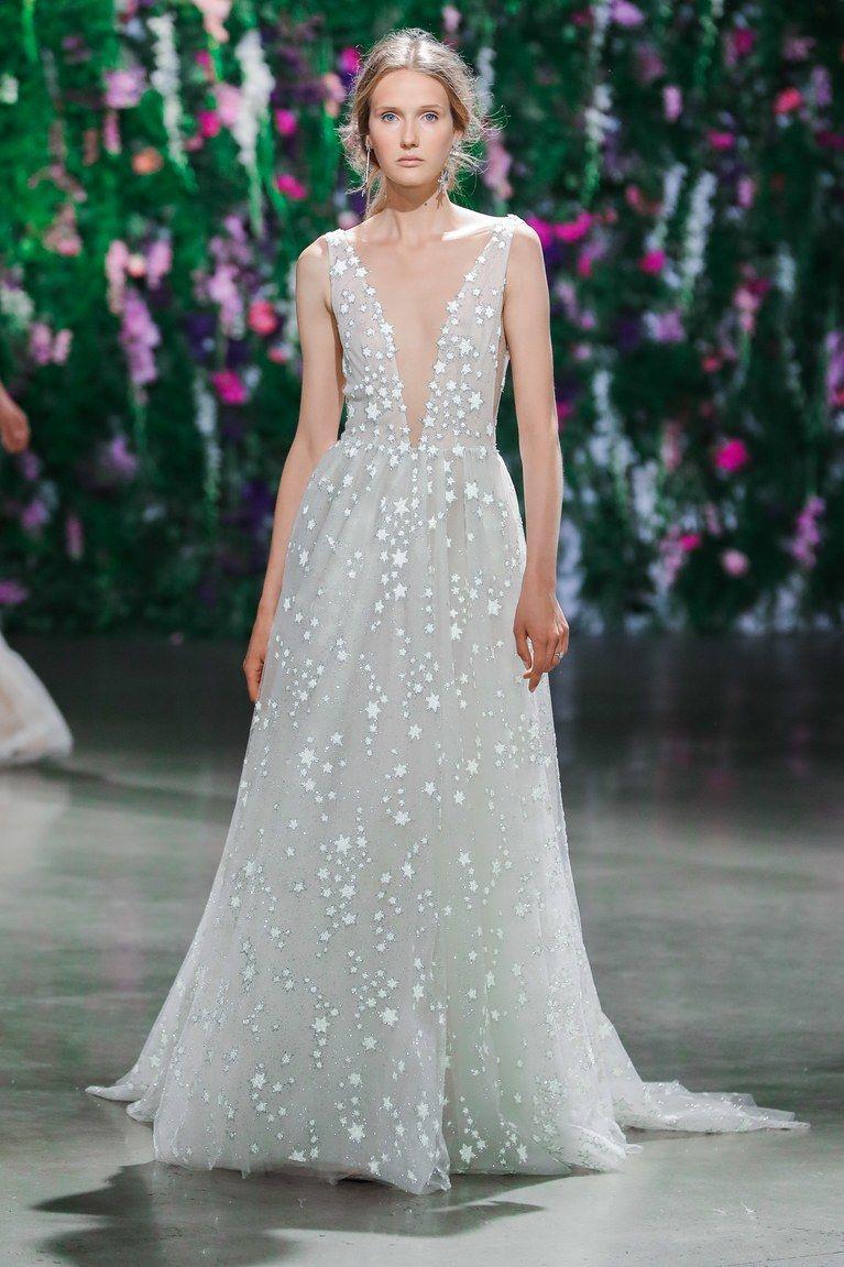 Fall Wedding Dresses Gowns Bridal White Star