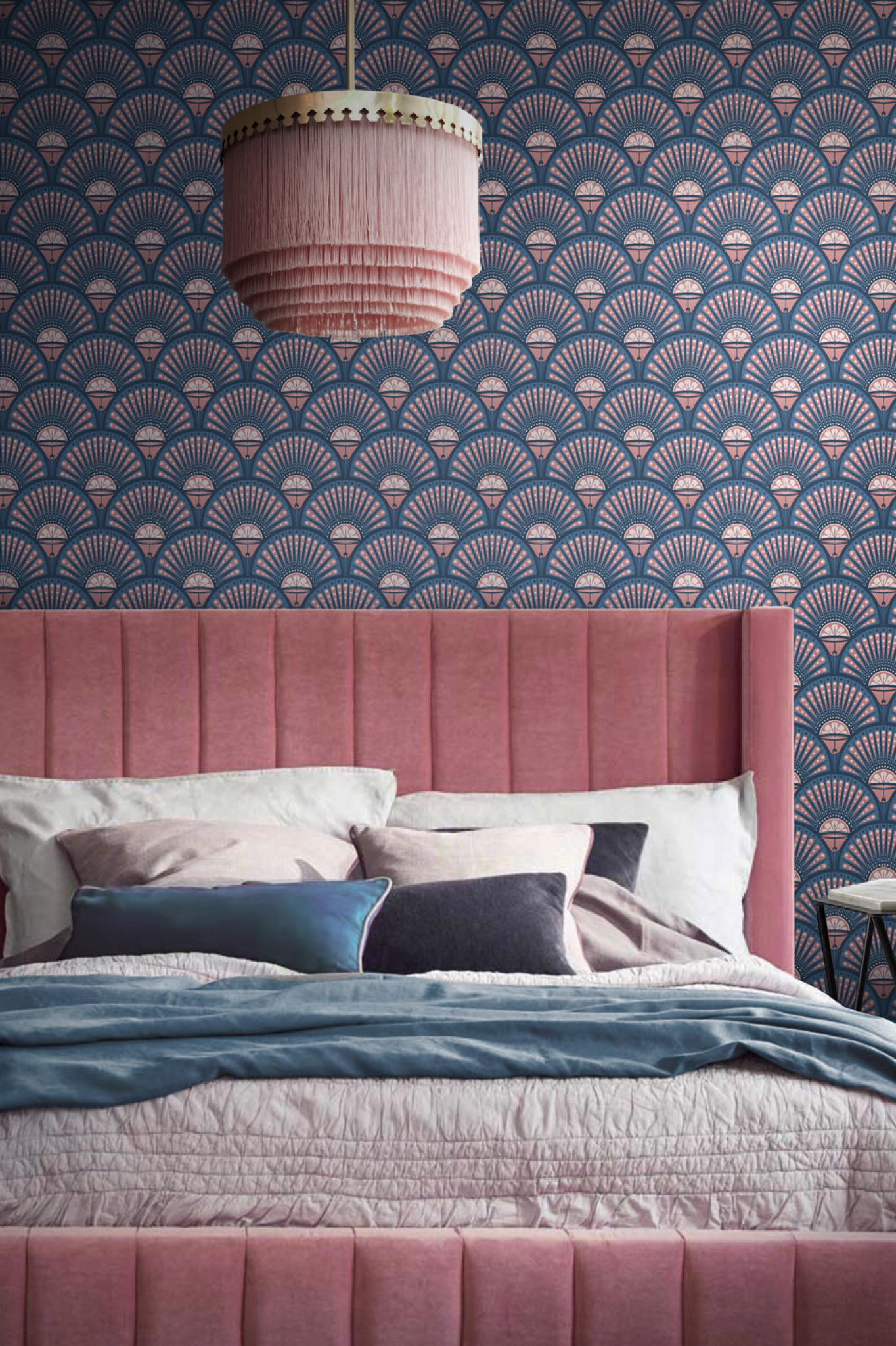 Best Deco Martini Blush In 2020 Bedroom Wallpaper Texture 400 x 300