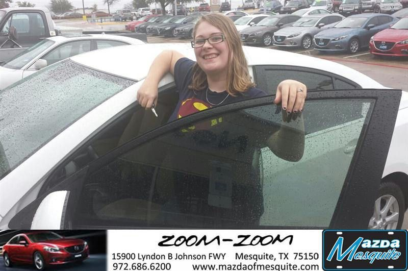 #HappyAnniversary to Olivia Lenox on your 2011 #Mazda #Mazda3 from Everyone at Mazda of Mesquite!