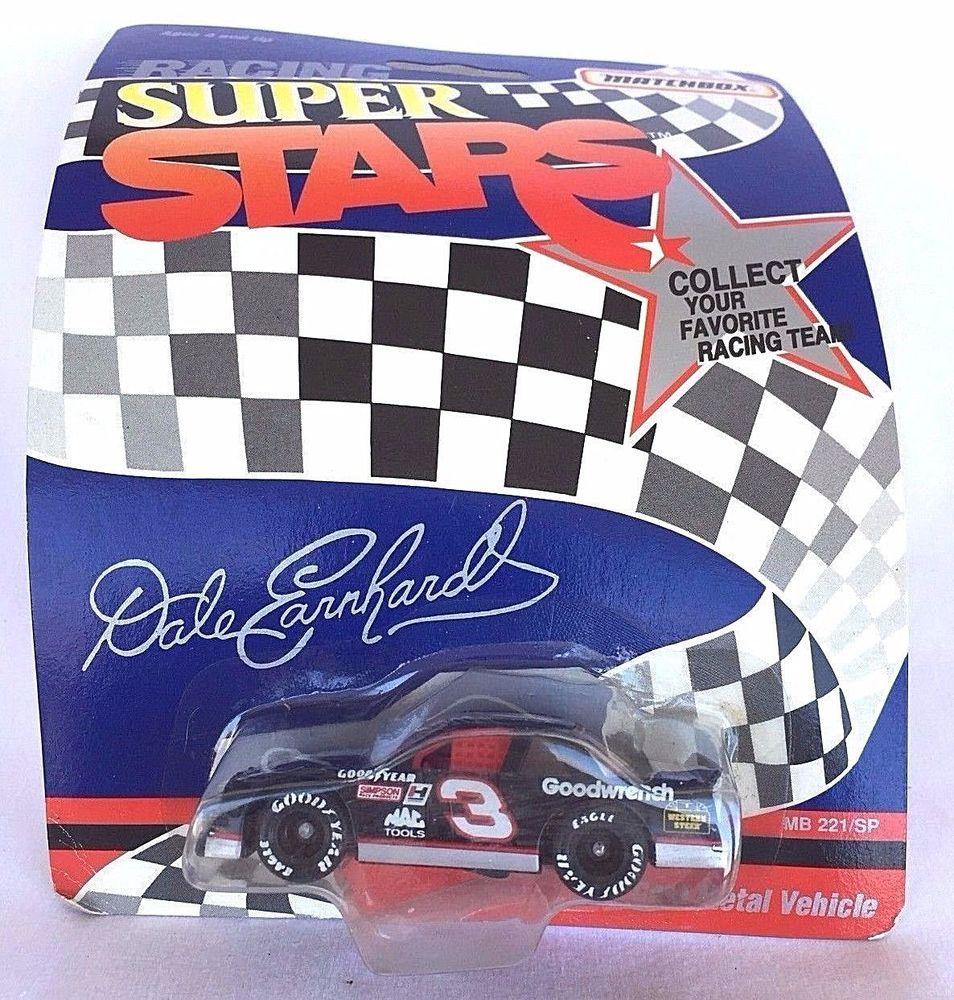 NASCAR MATCHBOX RACING SUPER STARS DALE EARNHARDT 3