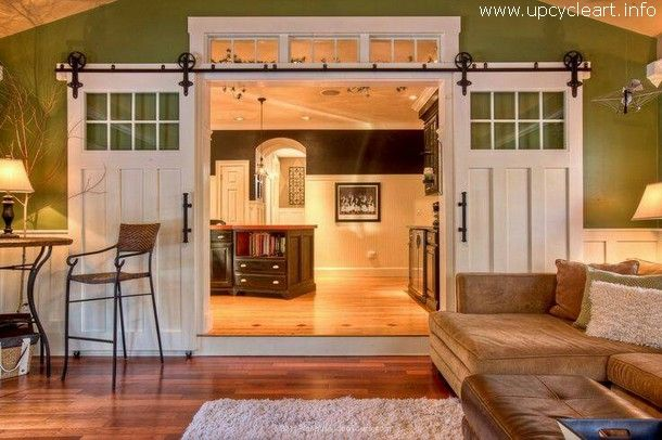 Amazing Spaces With Rustic Doors Upcycle Art Home House Staging House To Sell