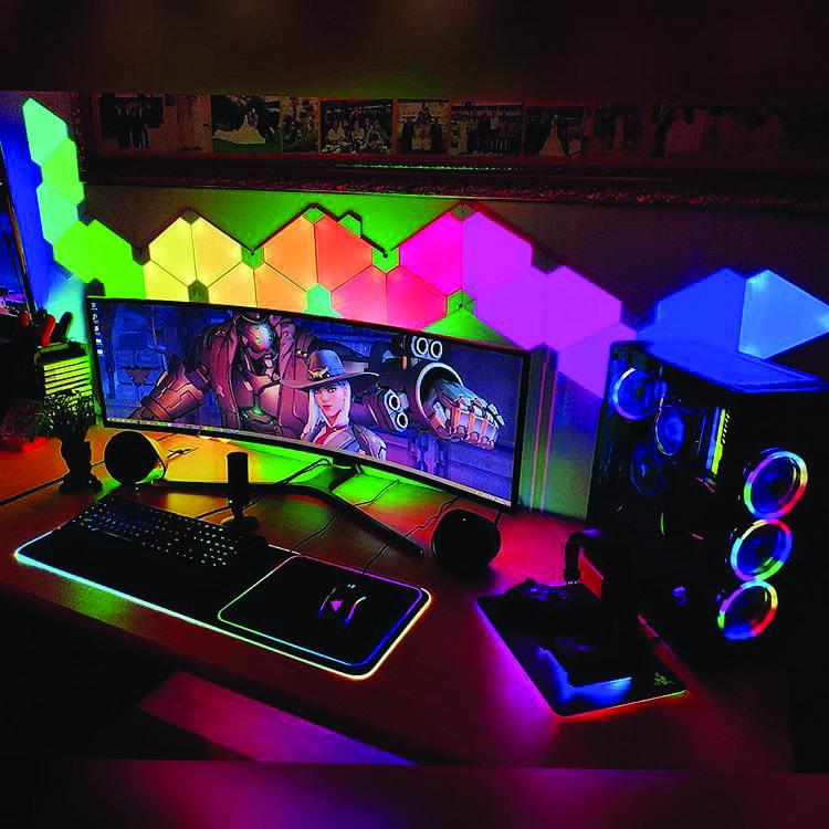 Gaming Computer Desk #gamingdesk