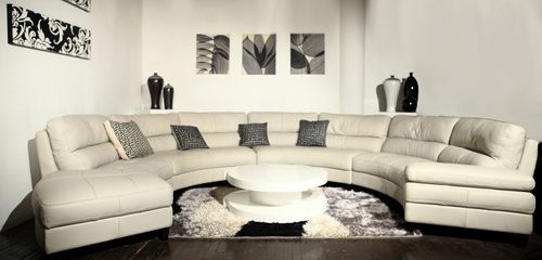 Large Sectional Curved Sofas Sofa Bed Sectionals