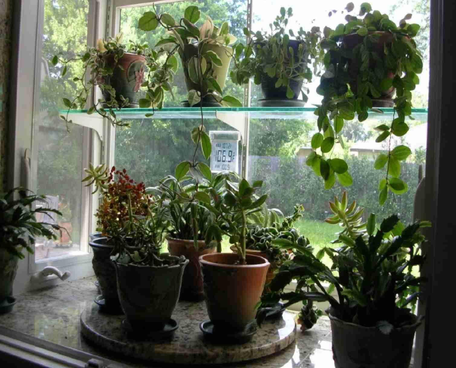 Garden Kitchen Window. Plus Lazy Susan is an excellent idea for ...