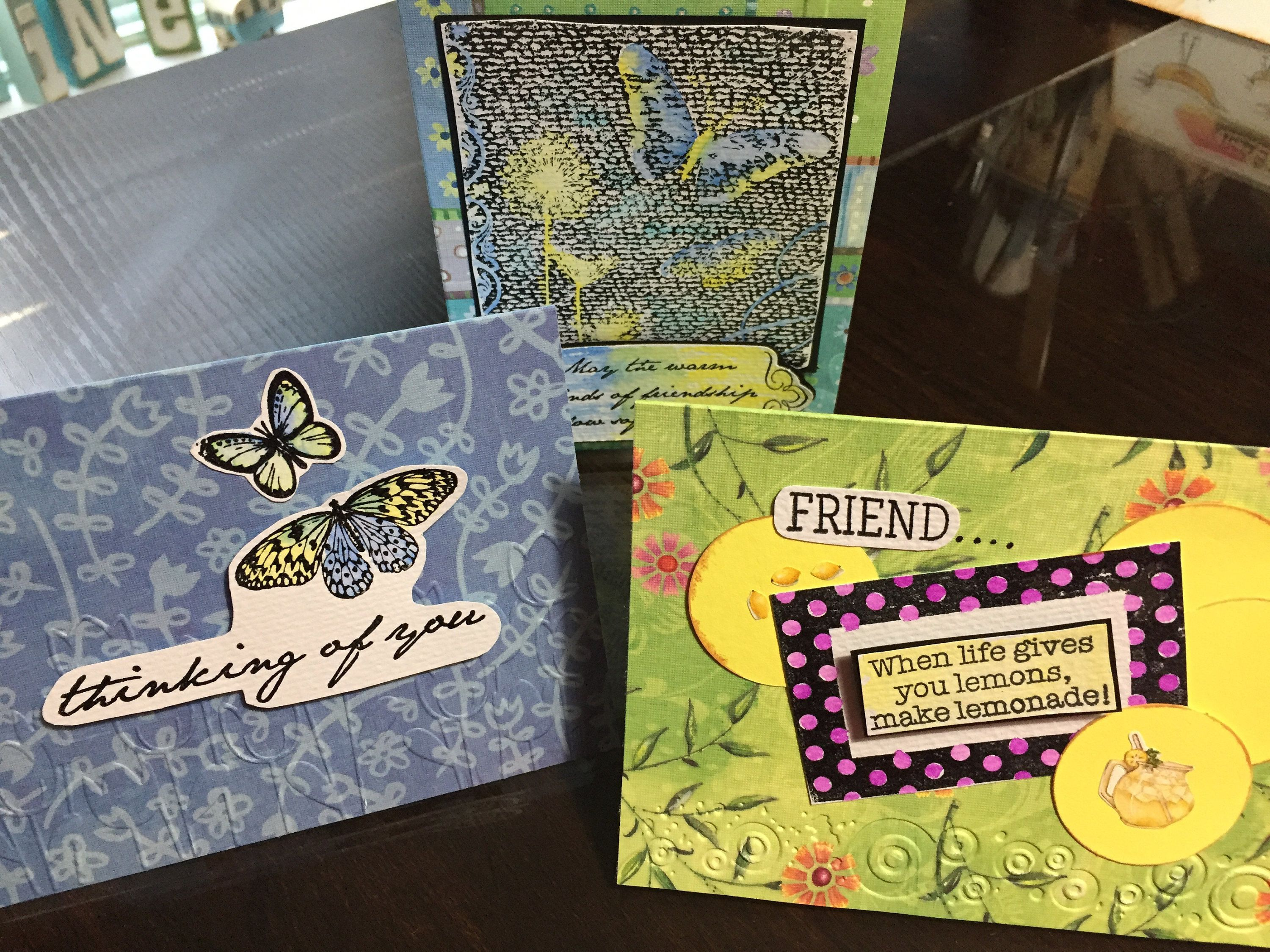 Handmade, homemade all occasion cards by Cottontailgiftshop on Etsy