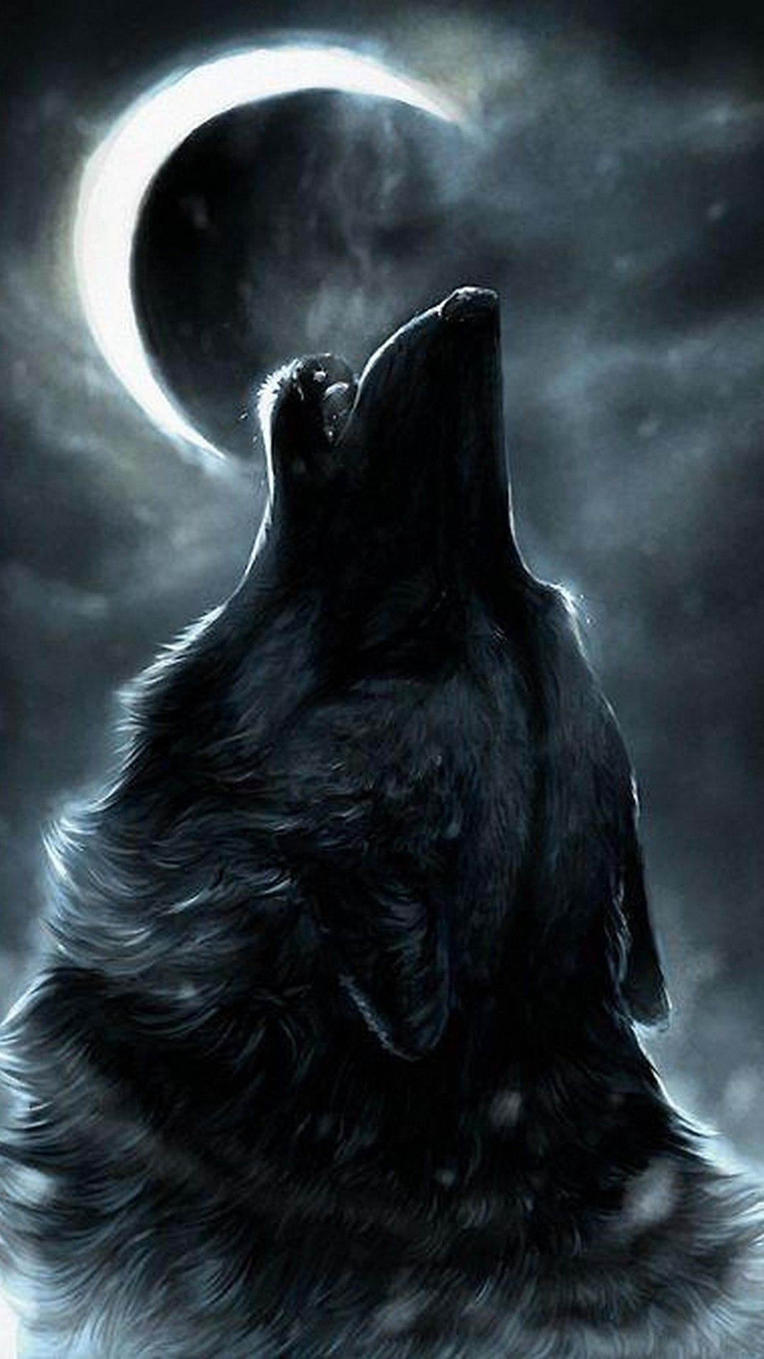 Cool Wolf iPhone X Wallpaper HD with highresolution