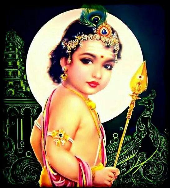 Baby Muruga Lord Murugan Hindu Gods Hindu Deities