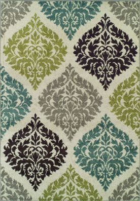 Dalyn Marcello MO611 Ivory Rug