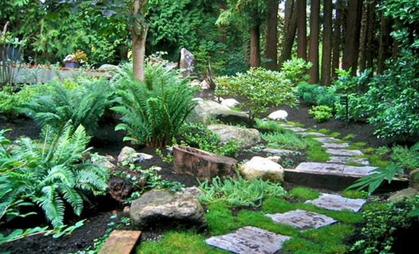 Natural Japanese Modern Landscape Natural Rock Garden Landscape Ideas Maybe Put A Path Like This Near The Side
