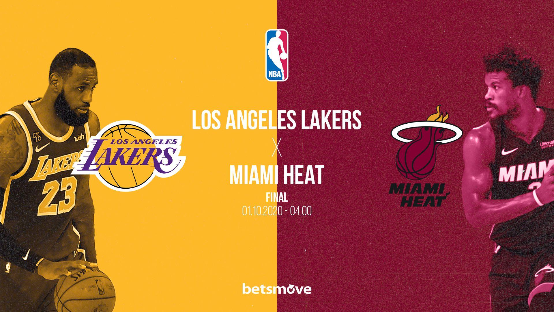 Los Angeles Lakers Miami Heat Canli Izle 2020 Miami Heat Los Angeles Lakers Mac