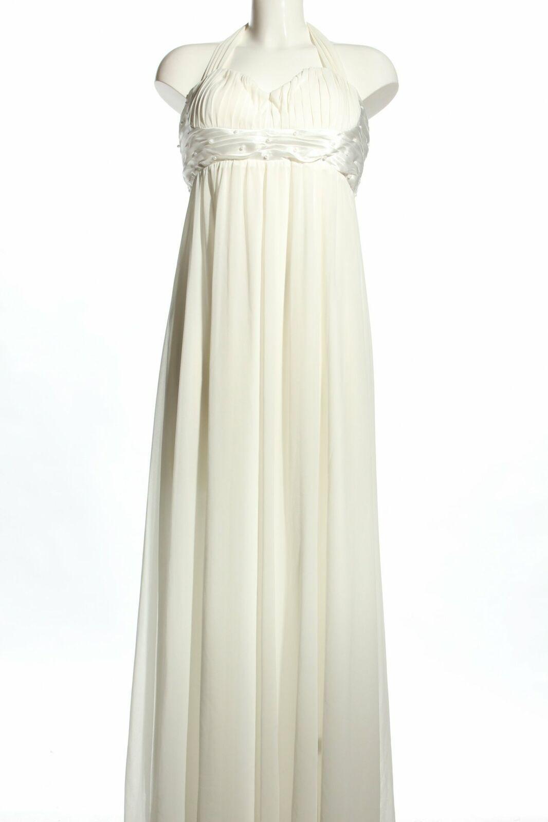 LAURA SCOTT Abendkleid weiß Elegant Damen Gr. DE 11 weiß Kleid