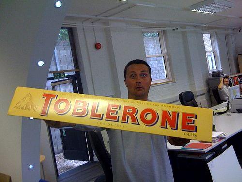 4.5kg Toblerone