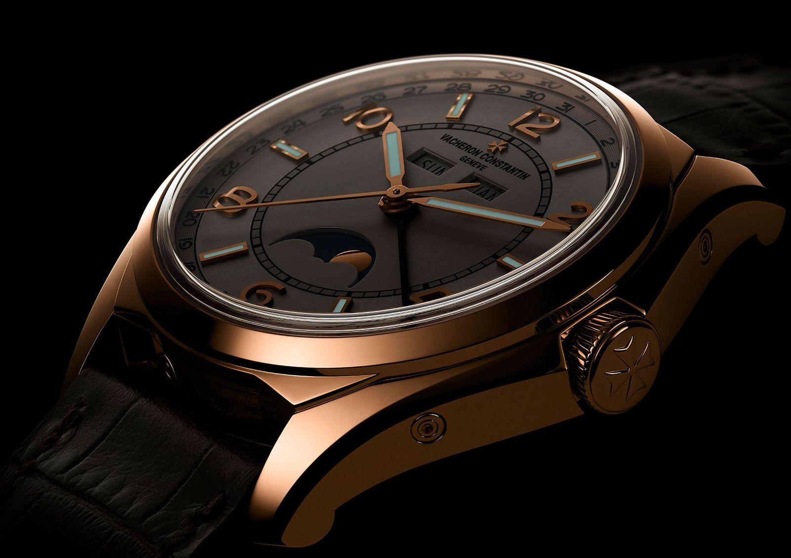 Vacheron Constantin Fiftysix Complete Calendar Gold Affordable Watches Vacheron Constantin Watch Design