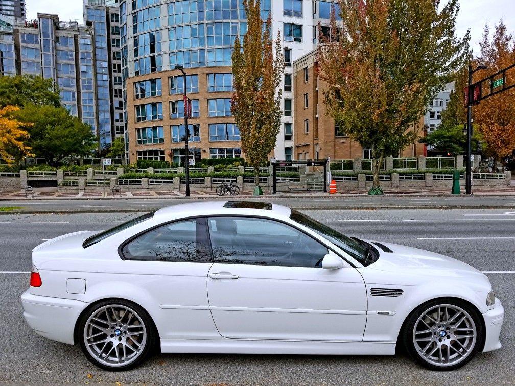 Bmw E46 M3 Alpineweiss White Thewhitee46m3 Bmw Bmw Classic Cars Bmw E46