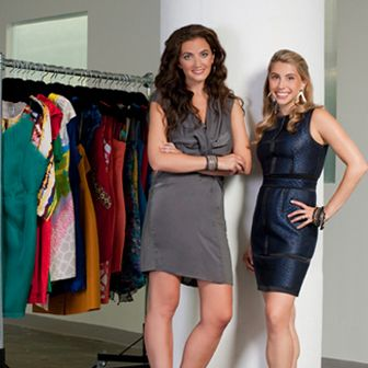 Jennifer Hyman & Jenny Fleiss, the founders of Rent the Runway