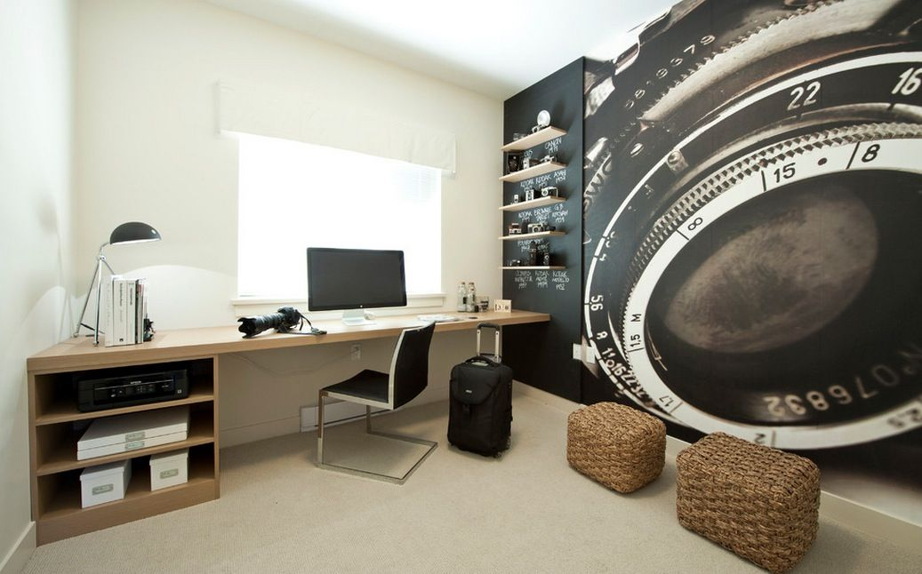 Beautiful Home Offices Workspaces Office Interior Design Home