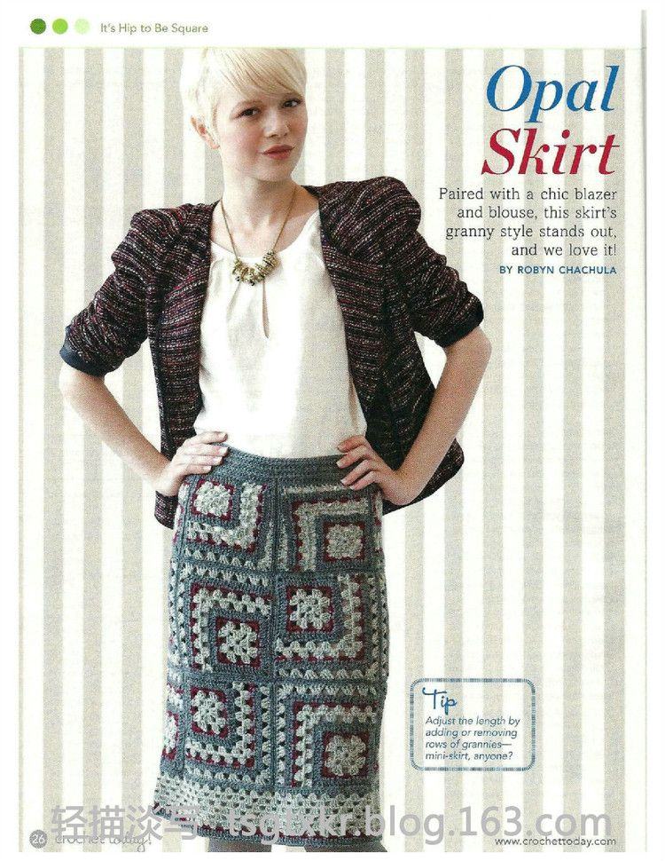 Crochet Today №11/12 2011 - 轻描淡写 - 轻描淡写 | 모티브옷 ...