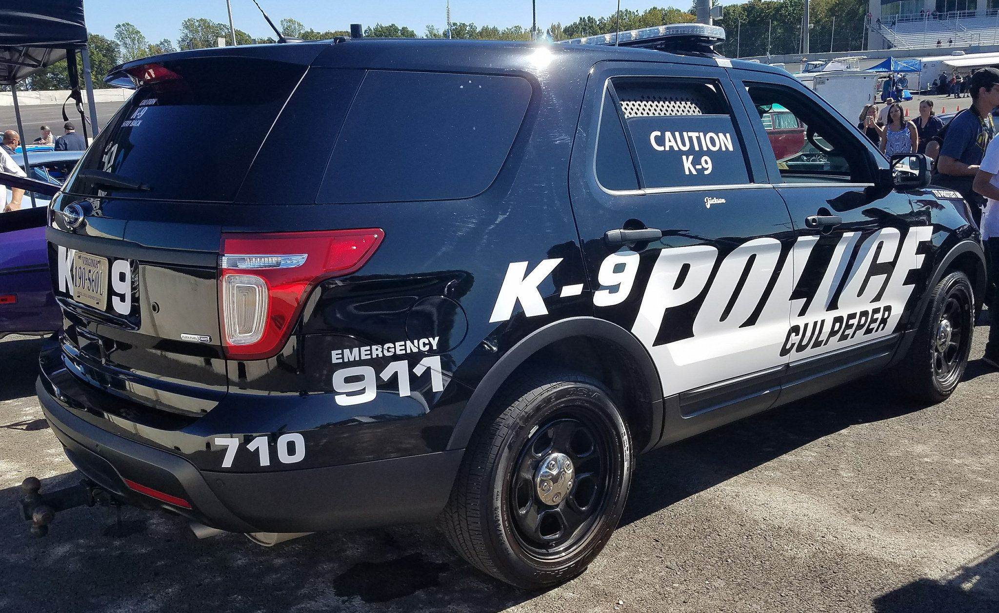 Culpeper Police Department K 9 Unit Ford Police Interceptor Utility Ford Police Interceptor Police Department