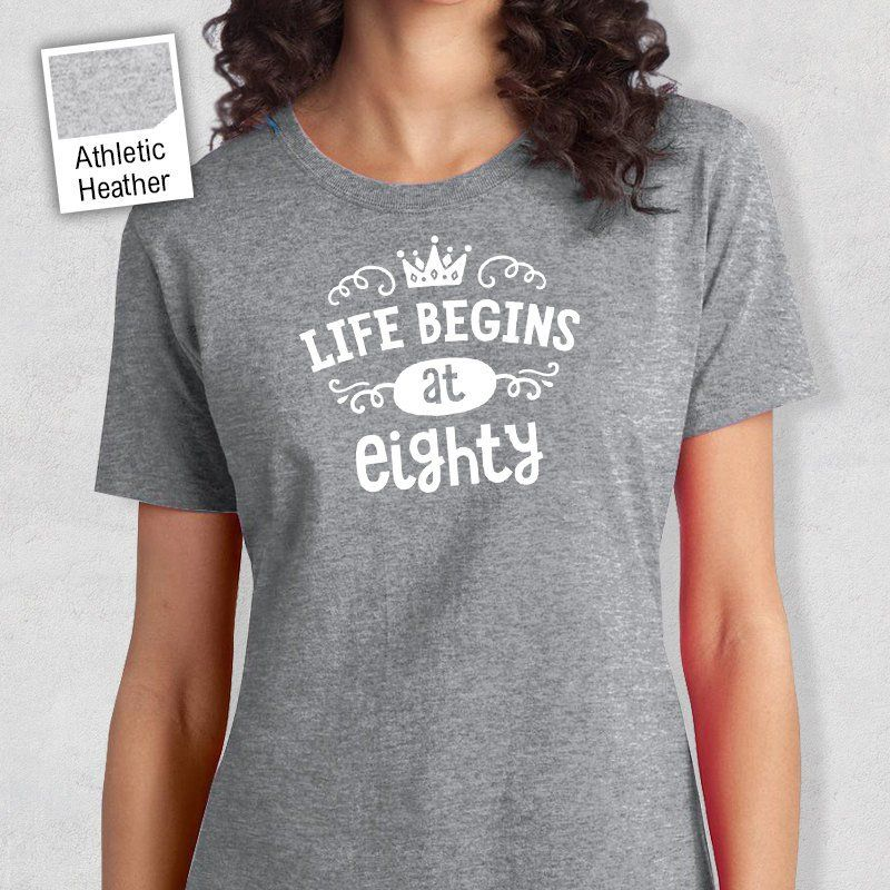 80th Birthday T Shirt Gift (With images) Aunt t shirts