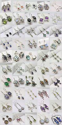 Other Wholesale Earrings 51015: Wholesale Lot! Sterling Silver Jewelry! 50 Earrings! BUY IT NOW ONLY: $625.0