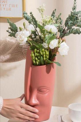 Photo of Face Vase Decoration