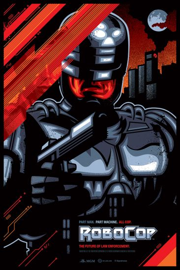 James White - Robocop