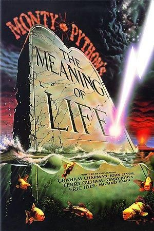 MONTY PYTHON/'S THE MEANING OF LIFE movie poster WACKY BRITISH WIT 24X36