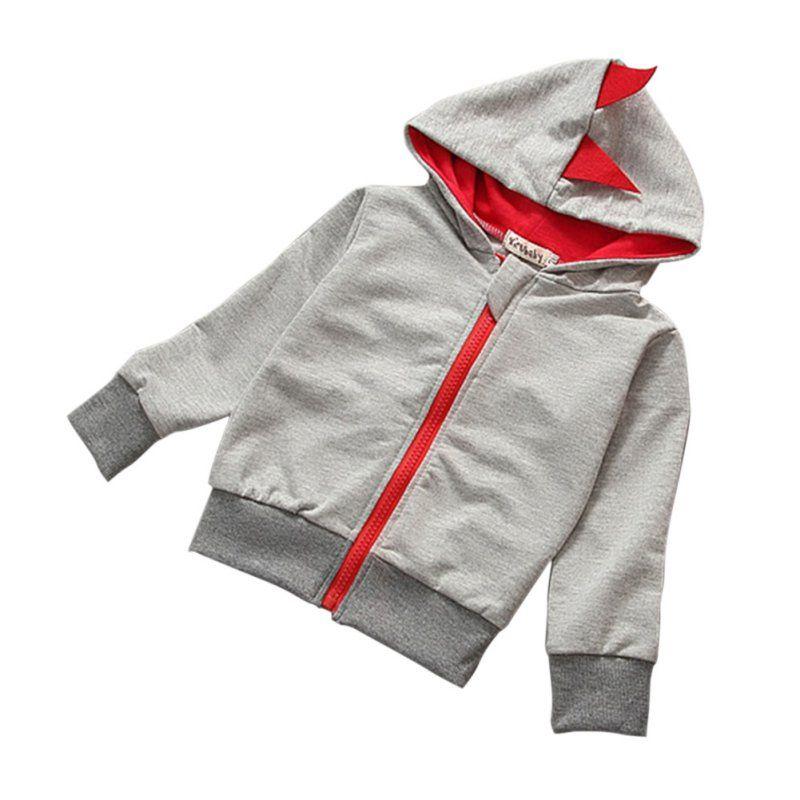 9d6e2adbb262 Click to Buy    Spring Autumn Baby Girls Boys Cartoon Jacket Kids ...