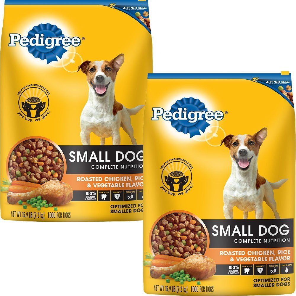 Pedigree Adult Small Dog Roasted Delicious Chicken Rice And